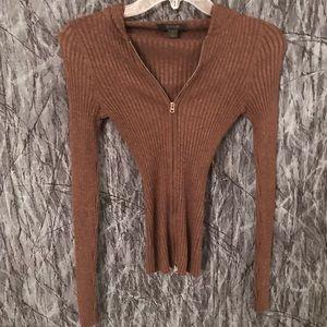 💙Brown Express sweater